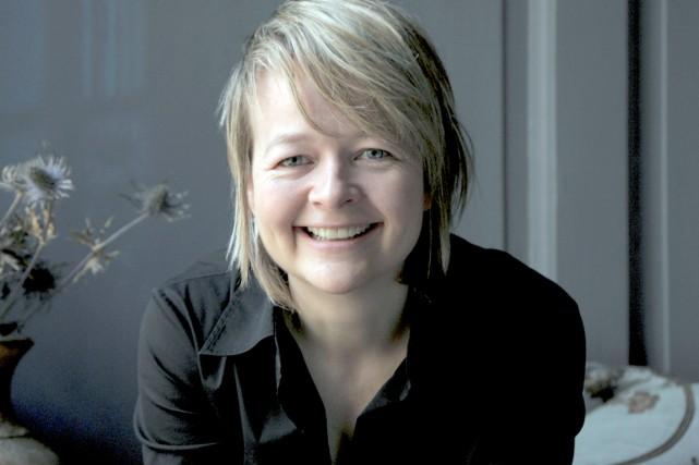 L'auteure Sarah Waters... (Photo Charlie Hopkinson)
