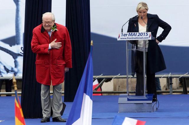Dernière provocation en date: alors qu'il n'y était... (Photo Philippe Wojazer, Reuters)