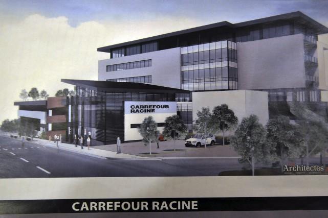Paul Boivin propose d'ajouter quatre étages au bâtiment... ((Courtoisie))