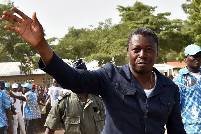 Le président togolais Faure Gnassingbé.... (PHOTO ISSOUF SANOGO, AFP)