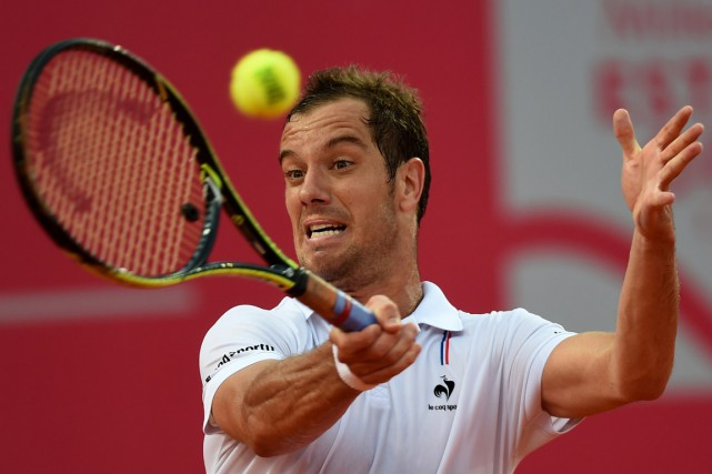 Richard Gasquet... (PHOTO FRANCISCO LEONG, AFP)