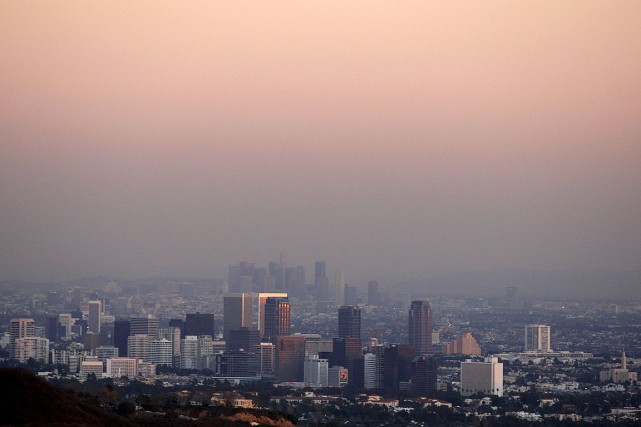 La ville de Los Angeles, photographiée en 2007.... (Photo Lucy Nicholson, archives Reuters)