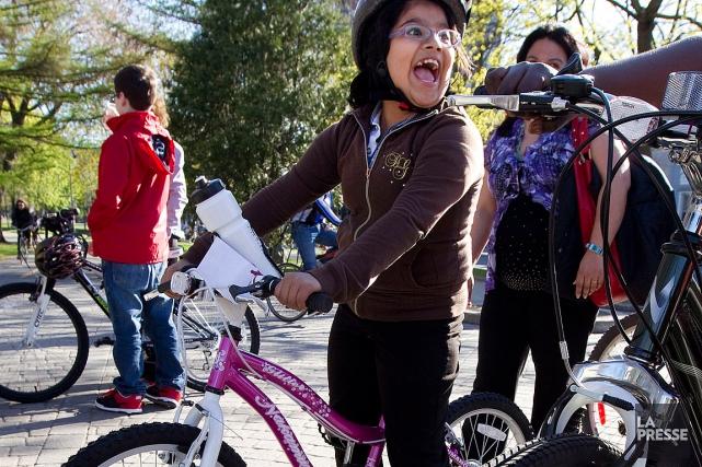 Vélo Québec fournit les ressources, alors que Les... (PHOTO ROBERT SKINNER, ARCHIVES LA PRESSE)