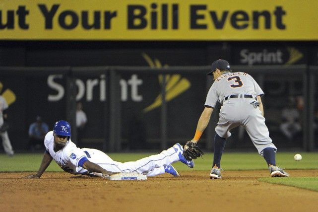 Lorenzo Cain (6)... (Photo John Rieger, USA TODAY Sports)