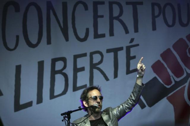 Personnalités emblématiques de la défense des libertés et... (PHOTO JOEL SAGET, AFP)