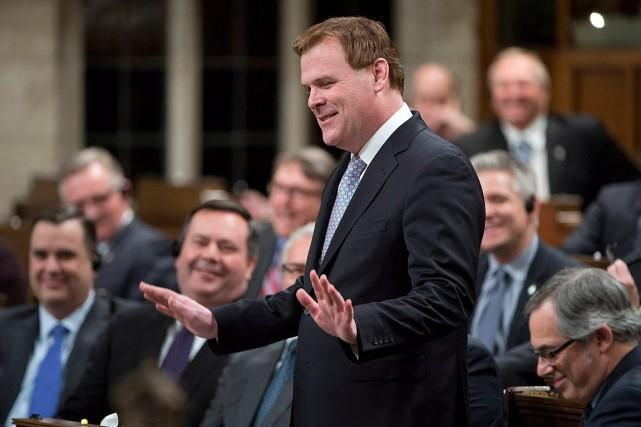 Ottawa-Ouest-Nepean était représentée jusqu'à récemment par l'ancien ministre... (Photo Adrian Wyld, archives La Presse Canadienne)