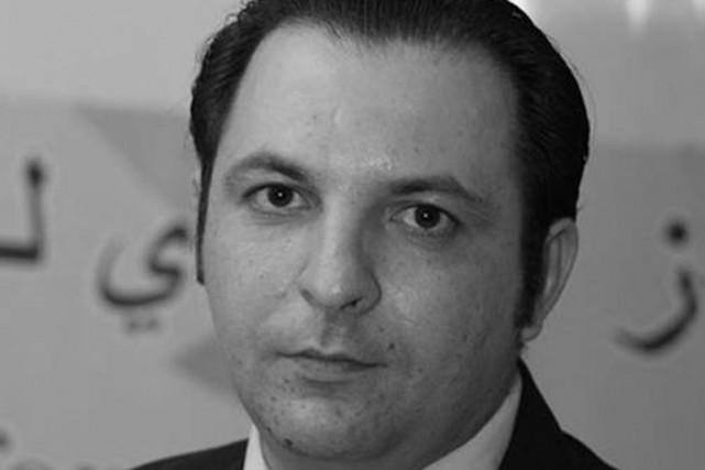 Mazen Darwishest détenu dans une prison des services... (PHOTO FOURNIE PAR L'UNESCO)