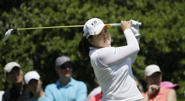 Inbee Park... (PHOTO LM OTERO, archives AP)