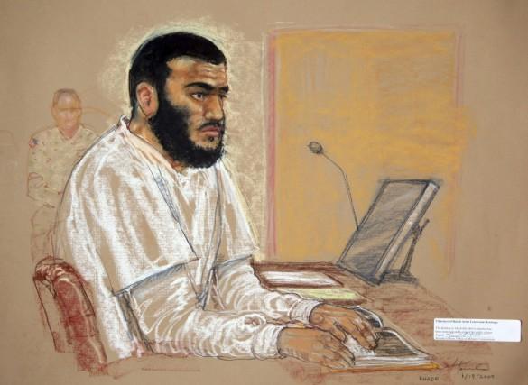 Omar Khadr en 2009... (Janet Hamlin)