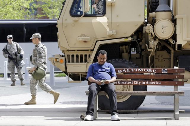 Le gouverneur du Maryland a indiqué que la... (Photo: AP)