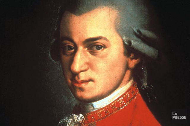 Mozart... (PHOTO ARCHIVES LA PRESSE)