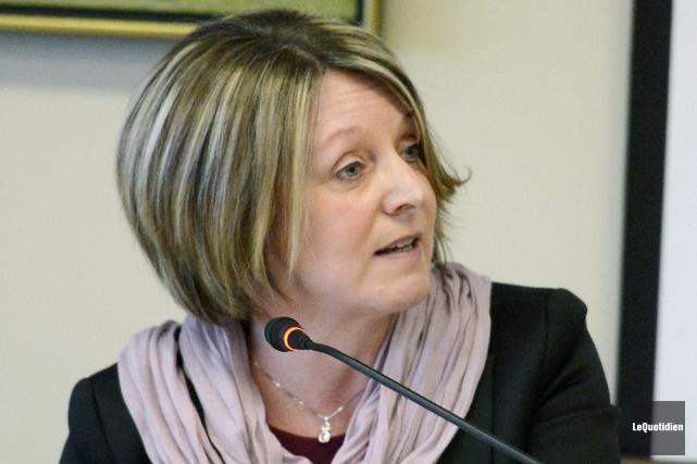 La conseillère municipale Christine Boivin... ((Archives Le Quotidien))