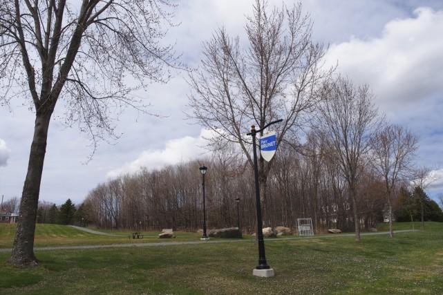 Le parc Brunet doit demeurer un lieu de... (photo Alain Dion)