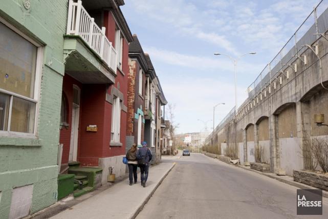 Avec la rue May va disparaître une partie... (Photo: Robert Skinner, La Presse)