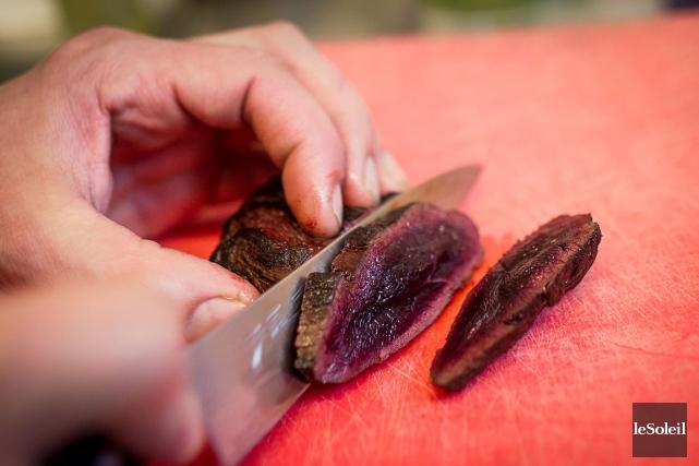 La viande de phoque est utilisée par plusieurs... (Photothèque Le Soleil)