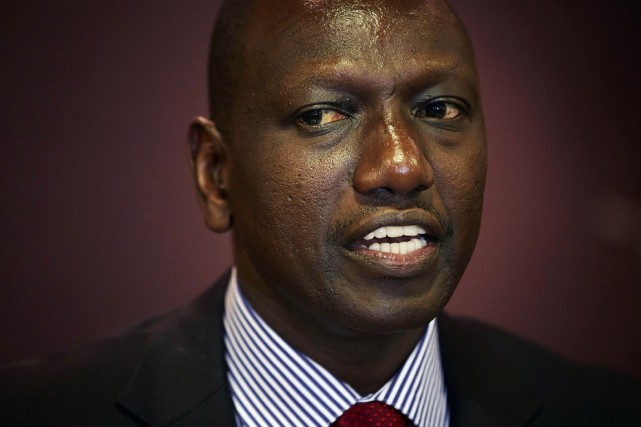 Le vice-président du Kenya William Ruto.... (PHOTO PHIL NJIHUIS, ARCHIVES REUTERS)