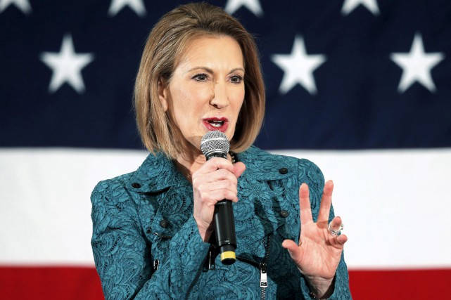 Carly Fiorina... (PHOTO BRIAN SNYDER, ARCHIVES REUTERS)