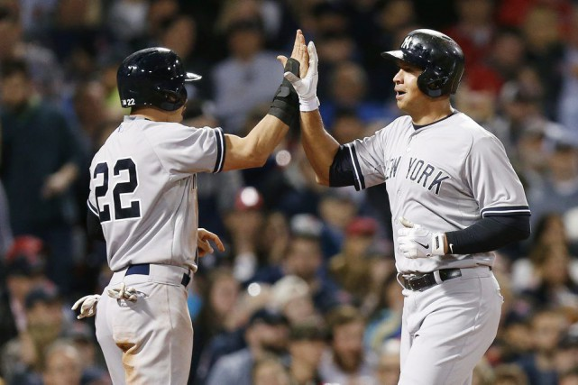 Jacoby Ellsbury et Alex Rodriguez... (Photo Michael Dwyer, archives AP)