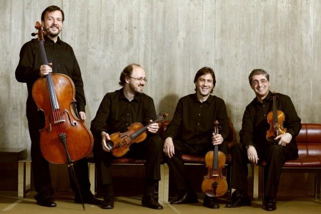 Le Quatuor à cordes Borodine... (Photo Keith Saunders, fournie par le Quatuor Borodine)