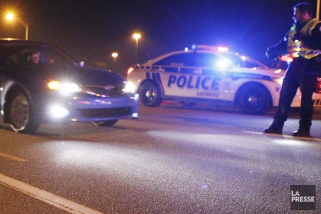 Les arrestations pour ivresse au volant faites en fin de semaine prouvent qu'il... (Archives La Presse)