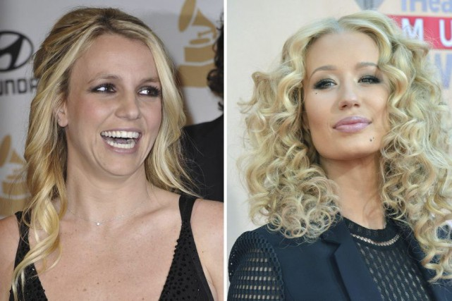 Britney Spears et Iggy Azalea... (PHOTOS AGENCE FRANCE-PRESSE)