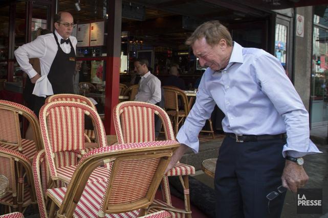 Le restaurateur Alain Creton a versé quelques larmes... (PHOTO IVANOH DEMERS, LA PRESSE)