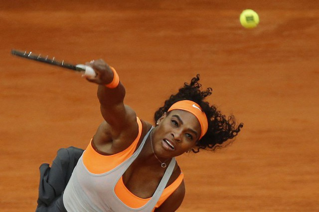 Serena Williams... (PHOTO DANIEL OCHOA DE OLZA, AP)