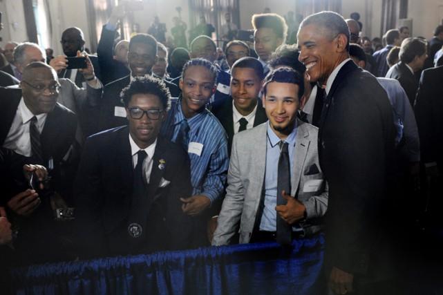 Barack Obama a annoncé le lancement d'une organisation... (Photo: AP)