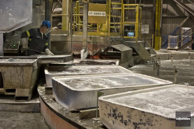 Il est indubitable que la forêt et l'aluminium... ((Archives Le Quotidien))