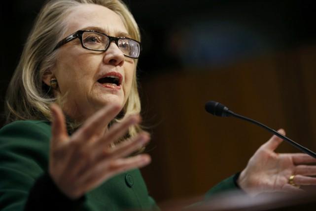 Hillary Clinton s'était déjà présentée devant le Congrès... (Archives Reuters)