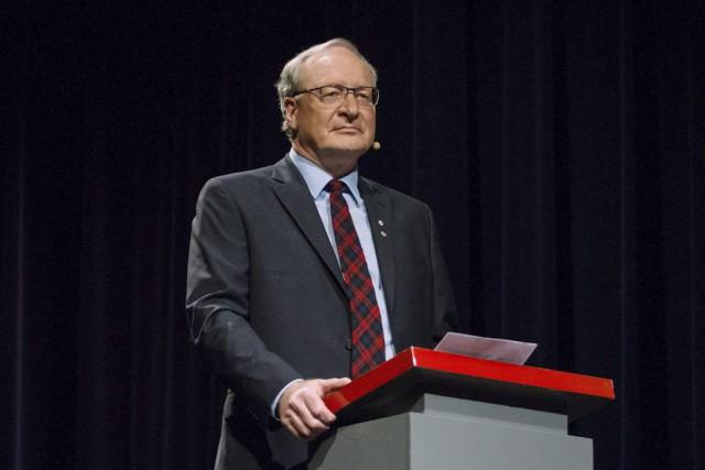 Le premier ministre libéral Wade MacLauchlanest devenu le... (PHOTO JOHN MORRIS, ARCHIVES LA PRESSE CANADIENNE)