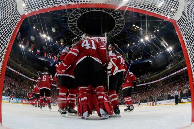 Les Canadiens trônent au sommet du groupe A... (PHOTO DAVID W CERNY, REUTERS)