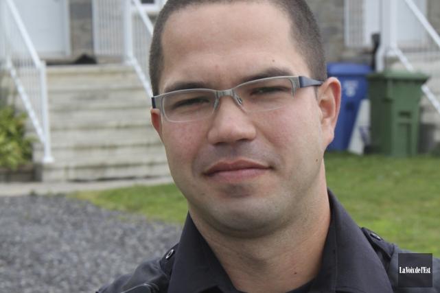 Le porte-parole du Service de police de Granby,... (photo archives La Voix de l'Est)