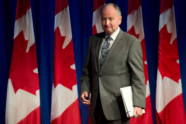 Le ministre des Affaires étrangères, Rob Nicholson... (PHOTO ADRIAN WYLD, ARCHIVES LA PRESSE CANADIENNE)