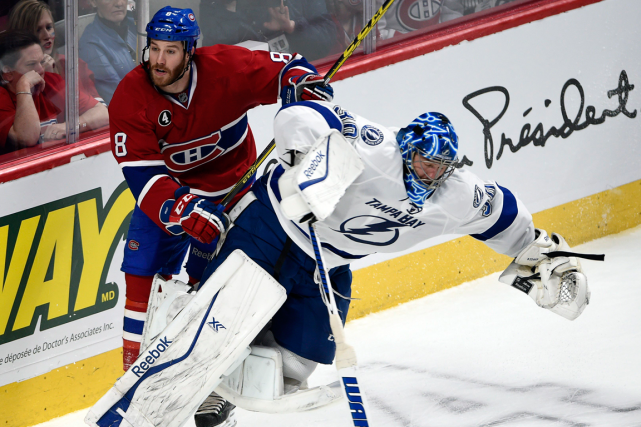 Brandon Prust est entré en colision avec le... (Photo Ryan Remiorz, PC)
