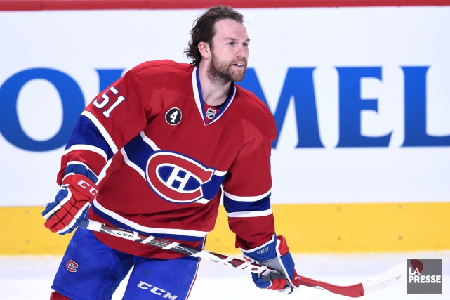 David Desharnais... (Photo Bernard Brault, archives La Presse)