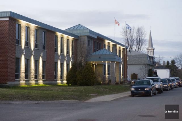 L'école Sainte-Marie à Saint-Boniface est trop petite. Deux... (Photo: Stéphane Lessard, Le Nouvelliste)
