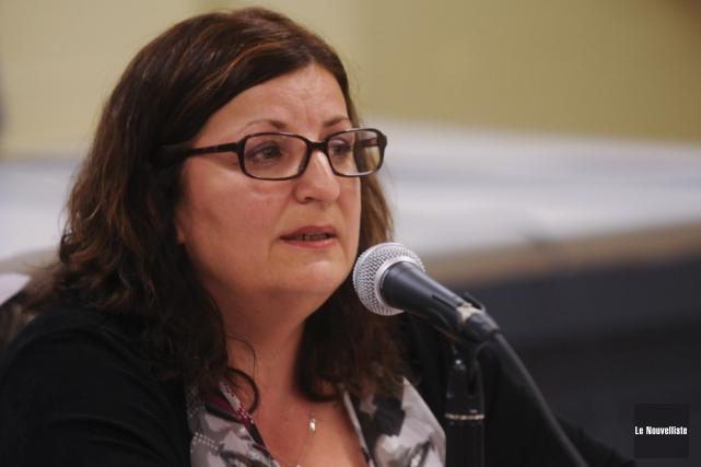 Diane Aubut, mairesse de Sainte-Anne-de-la-Pérade.... (François Gervais)
