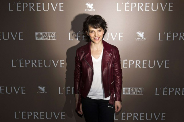 Juliette Binoche... (Photo LIONEL BONAVENTURE, AFP)