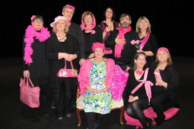 La troupe de théâtre Les Beaux-Parlants, de Shawinigan,...