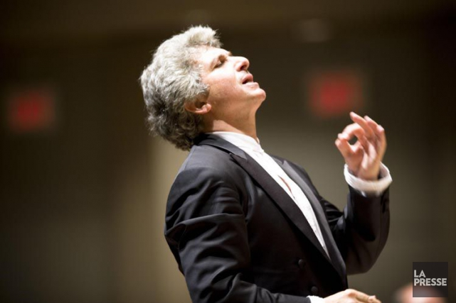 Peter Oundjian, chef du Toronto Symphony.... (PHOTO ARCHIVES LA PRESSE)