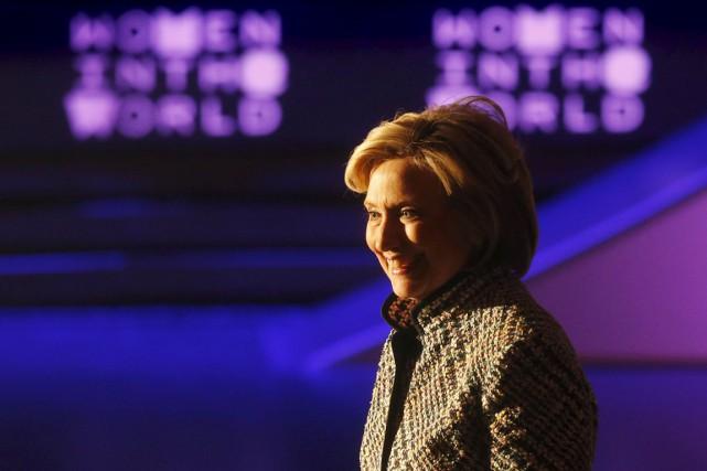 Hillary Clinton est jusqu'ici la grande favorite chez... (PHOTO SHANNON STAPLETON, ARCHIVES REUTERS)