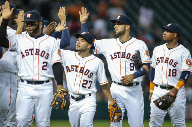 Les Astros de Houston trônent au sommet de... (Photo Troy Taormina, USA Today)