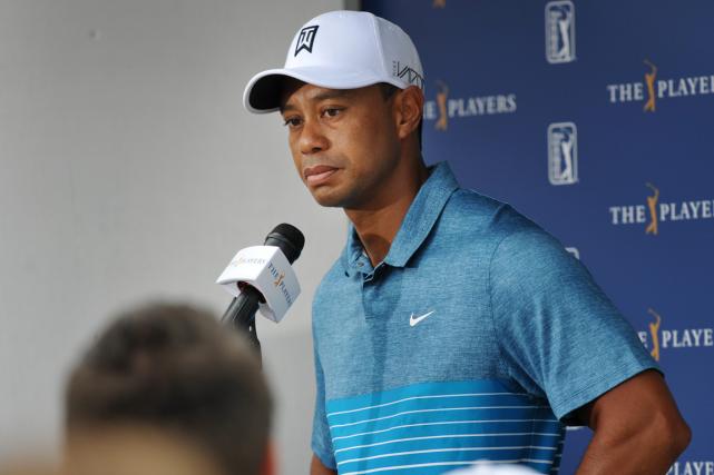 Tiger Woods a annoncé dimanche la fin de... (Photo Will Dickey, AP)