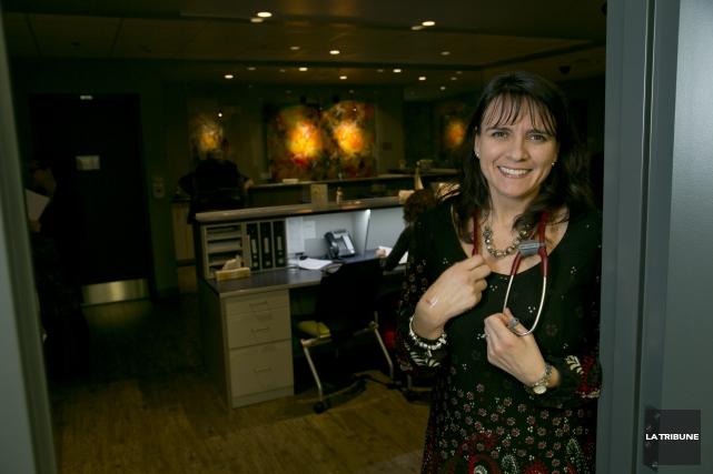 La docteure Chantal Doyon estime que la sécurité... (IMACOM, RENÉ MARQUIS)