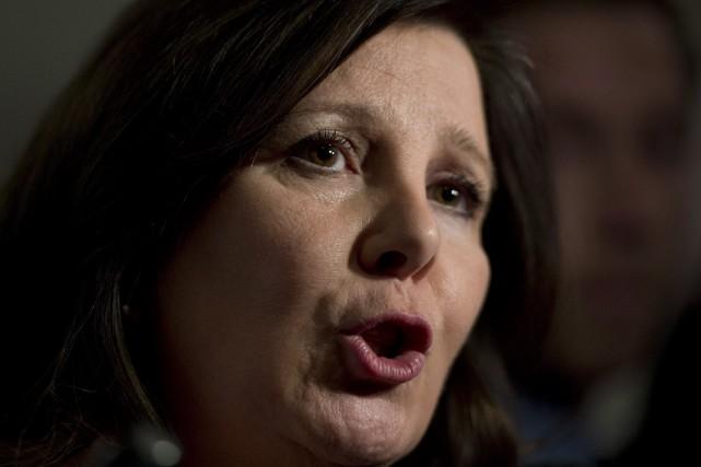 La députée Diane Lamarre craint que le projet... (Photo Jacques Boissinot, La Presse Canadienne)