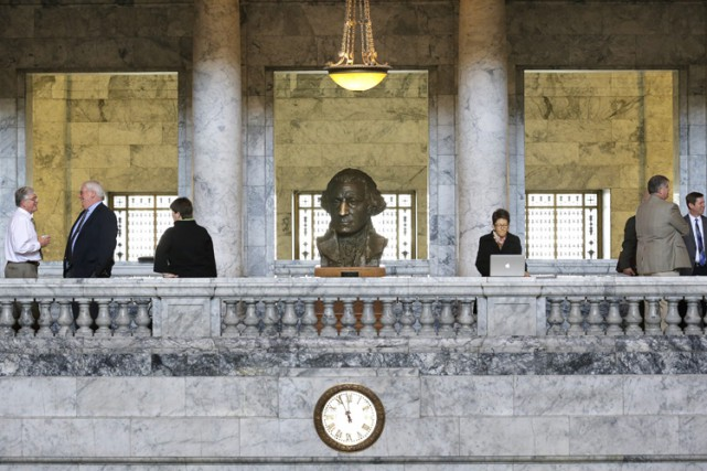 Le Congrès des États-Unis, dominé par les républicains, a adopté mardi le... (Photo: AP)