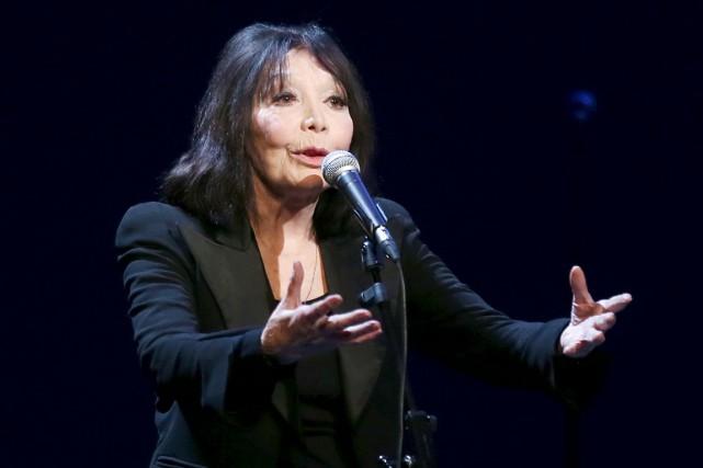 La vénérable Juliette Gréco a choisi le Festival... (AFP, Thomas Samson)