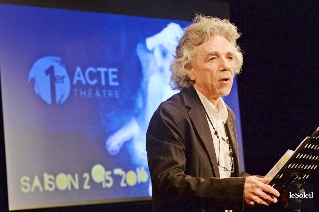 Le directeur général et artistique de Premier Acte,... (Le Soleil, Patrice Laroche)