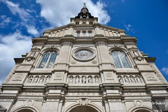 L'église Saint-Jean-Baptiste... (Le Soleil, Yan Doublet)